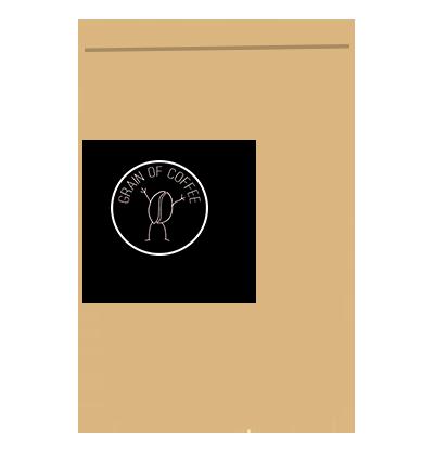 Emballage Kraft Grain of Coffee