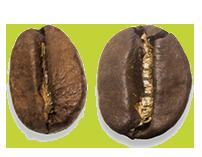 Café melange Grain of Coffee