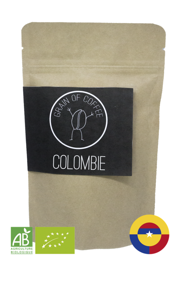 café de Colombie Risaralda Grain of coffee