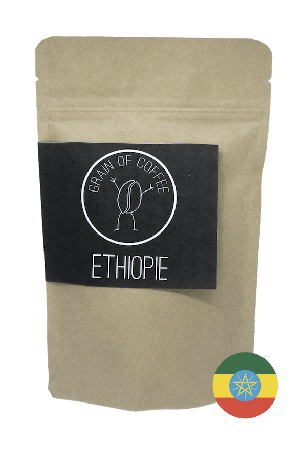 Café Ethiopie Grain of coffee Lekempti Sidamo